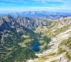 Poznávací zájezd s turistikou v pohoří Durmitor, Bjelasica a Komovi a koupáním v moři