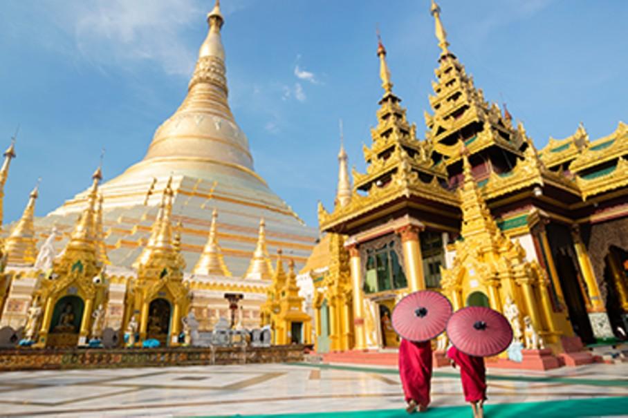 Myanmar - tajemství chrámů, pagod a svatyní (fotografie 1)