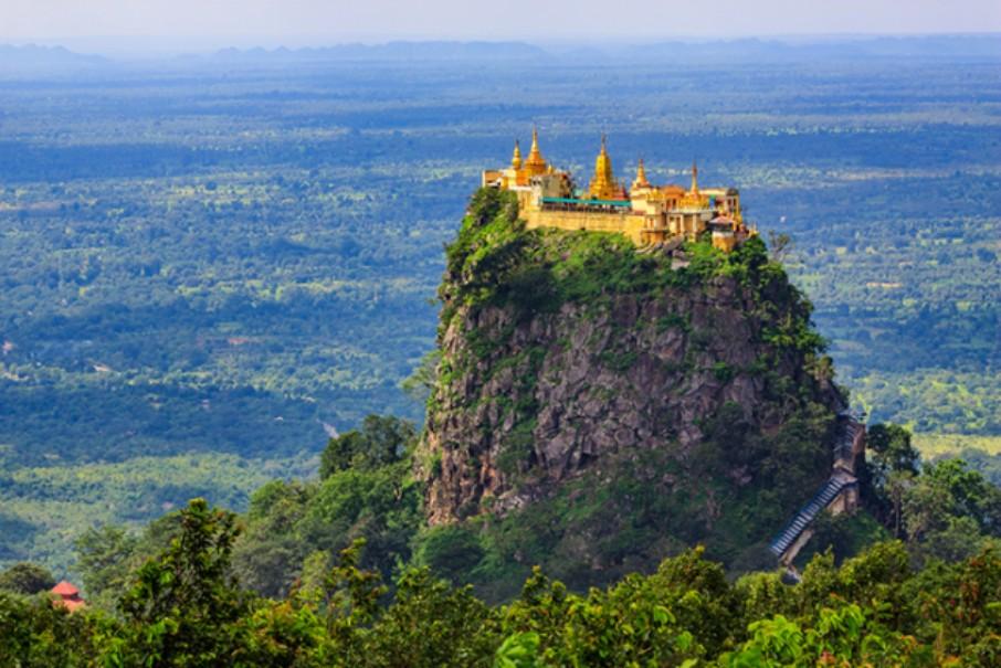 Myanmar - tajemství chrámů, pagod a svatyní (fotografie 4)