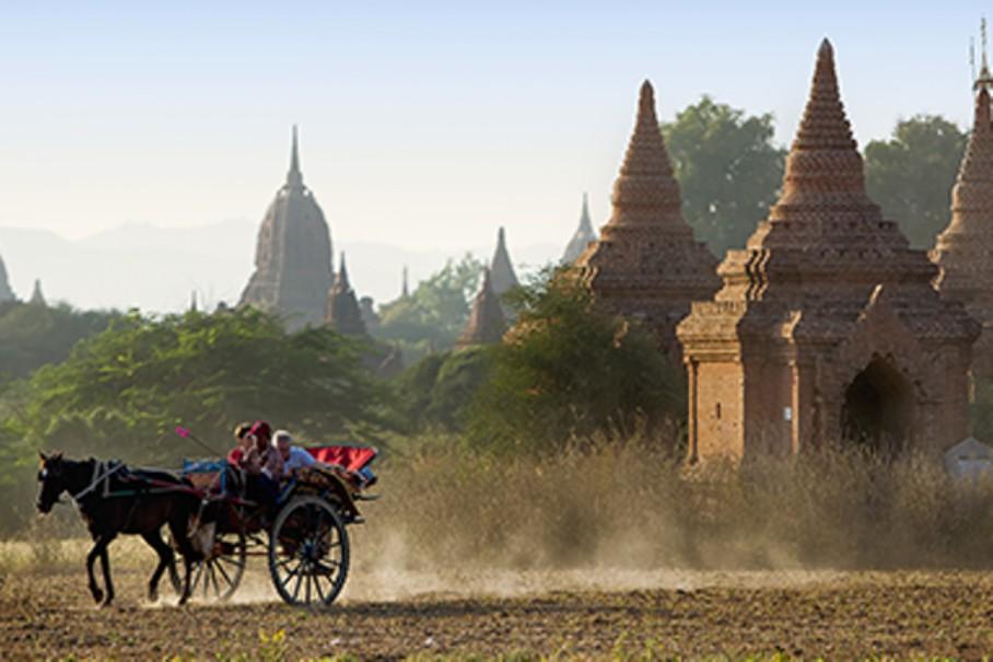 Myanmar - tajemství chrámů, pagod a svatyní (fotografie 5)