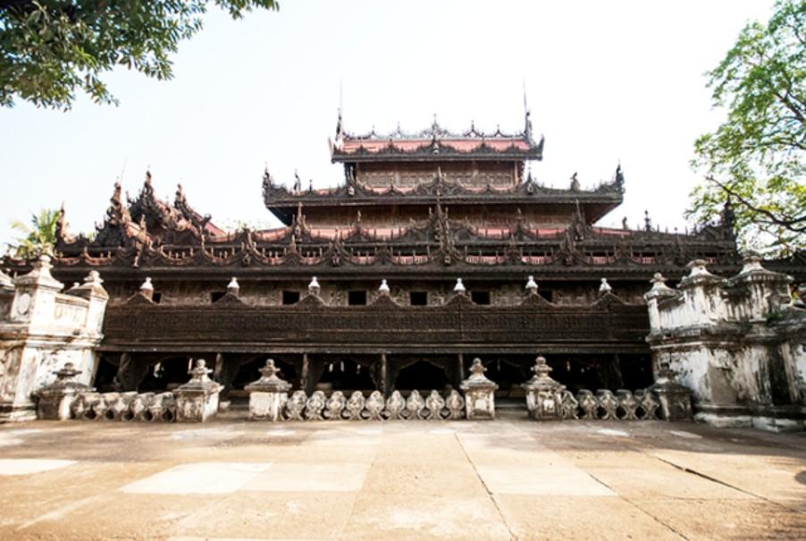 Myanmar - tajemství chrámů, pagod a svatyní (fotografie 7)
