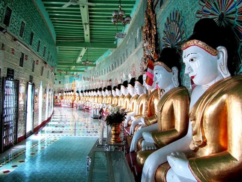 Myanmar - tajemství chrámů, pagod a svatyní (fotografie 10)