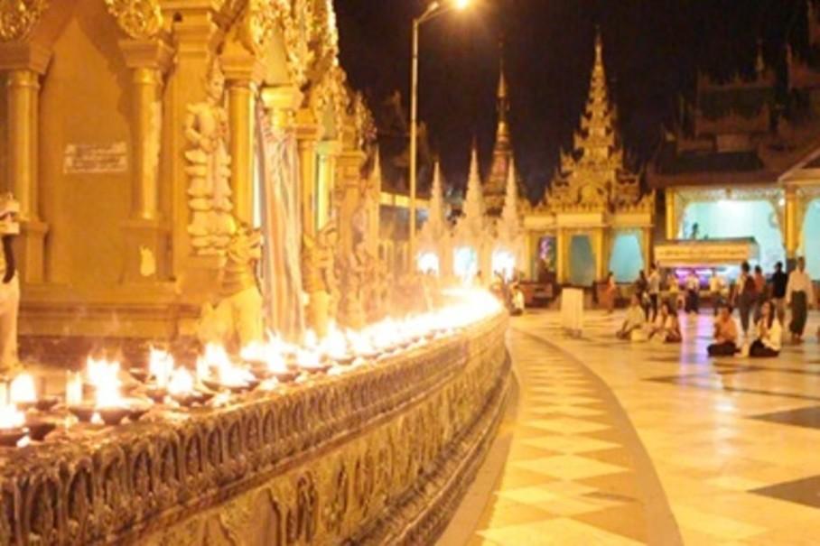 Myanmar - tajemství chrámů, pagod a svatyní (fotografie 13)