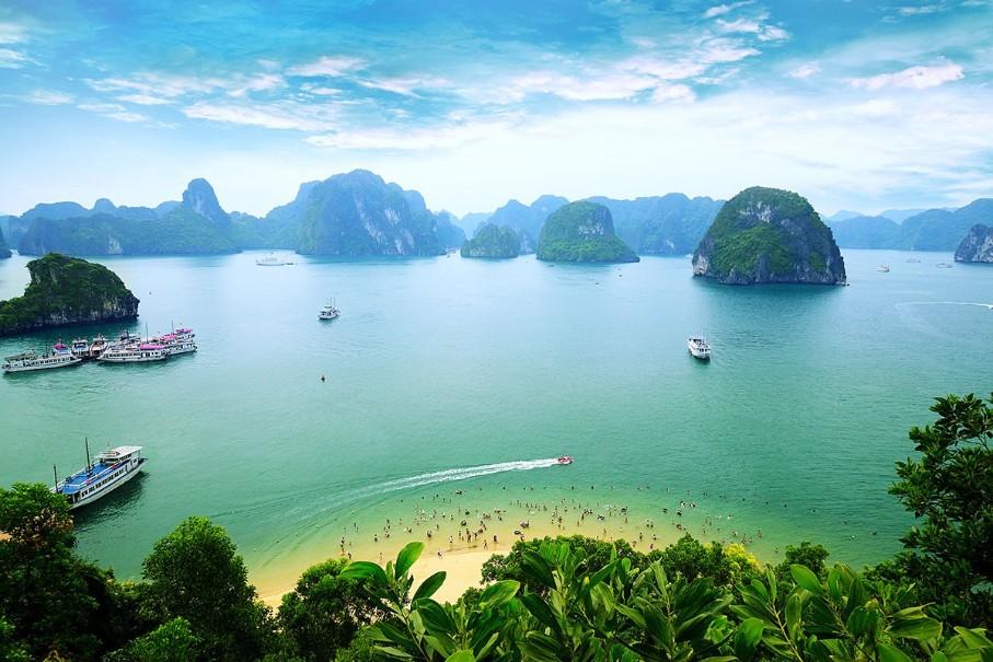 Hory a ostrovy severního Vietnamu (fotografie 7)