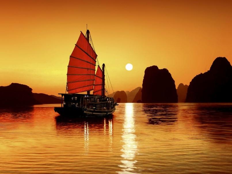 Hory a ostrovy severního Vietnamu (fotografie 8)