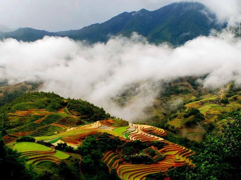 Hory a ostrovy severního Vietnamu (fotografie 19)