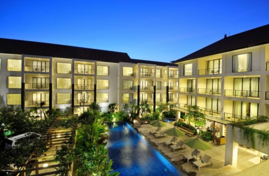 Taksu Hotel Sanur (fotografie 1)