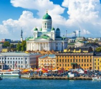 Helsinky a Tallinn letecky