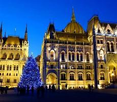 Advent v Budapešti a termály 2019