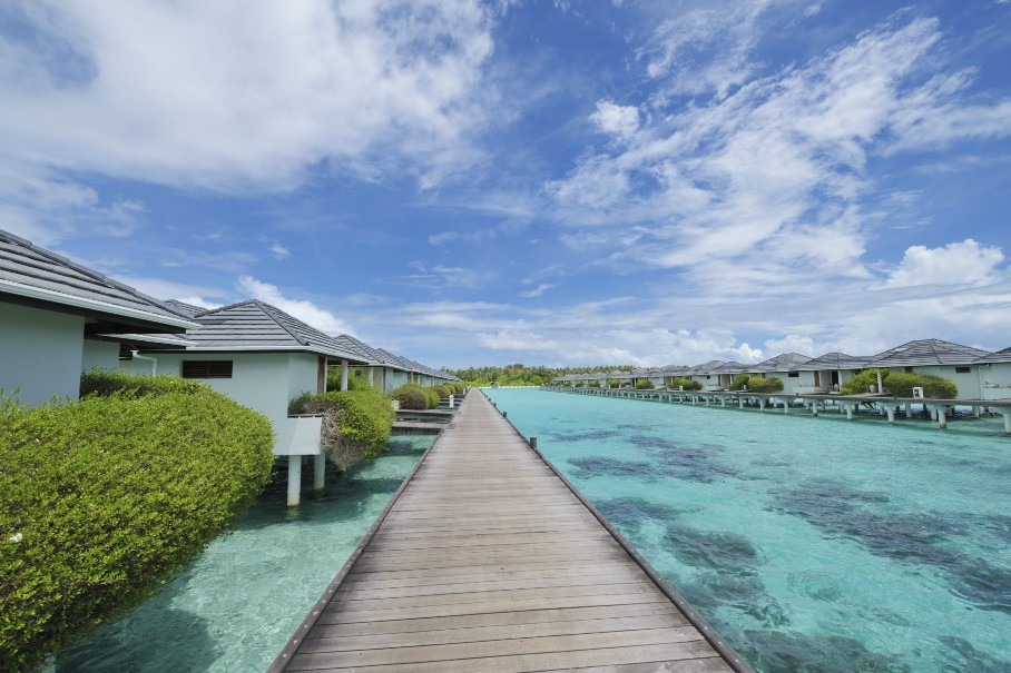Vodní bungalovy Sun Island Resort & Spa (fotografie 1)