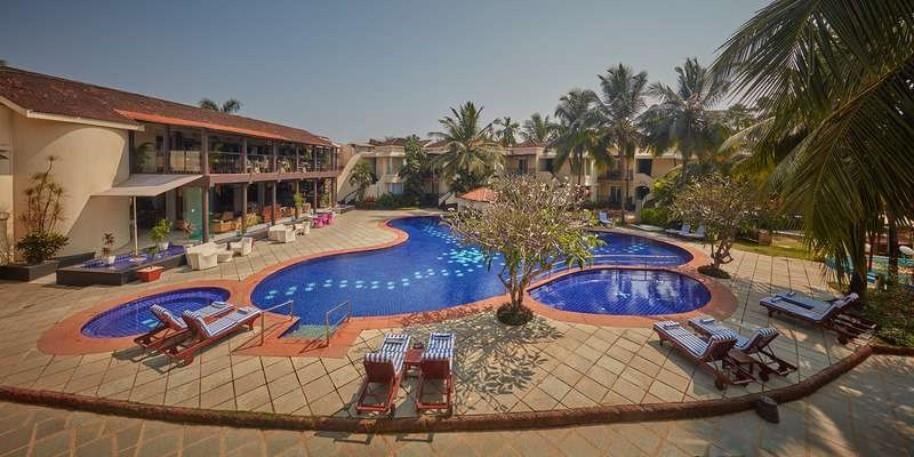 Hotel Royal Orchid Beach Resort & Spa (fotografie 1)