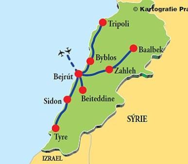 Libanon – Pokladnice bájných říší