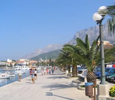 Soukromé apartmány Makarska