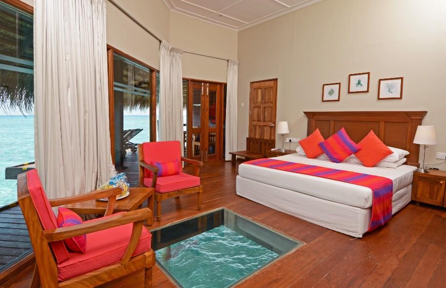 Hotel Adaaran Club Rannalhi - Vodní Bungalovy (fotografie 11)