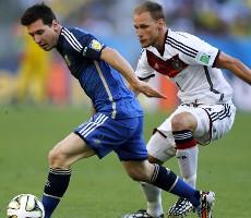 Německo - Argentina přípravné utkání