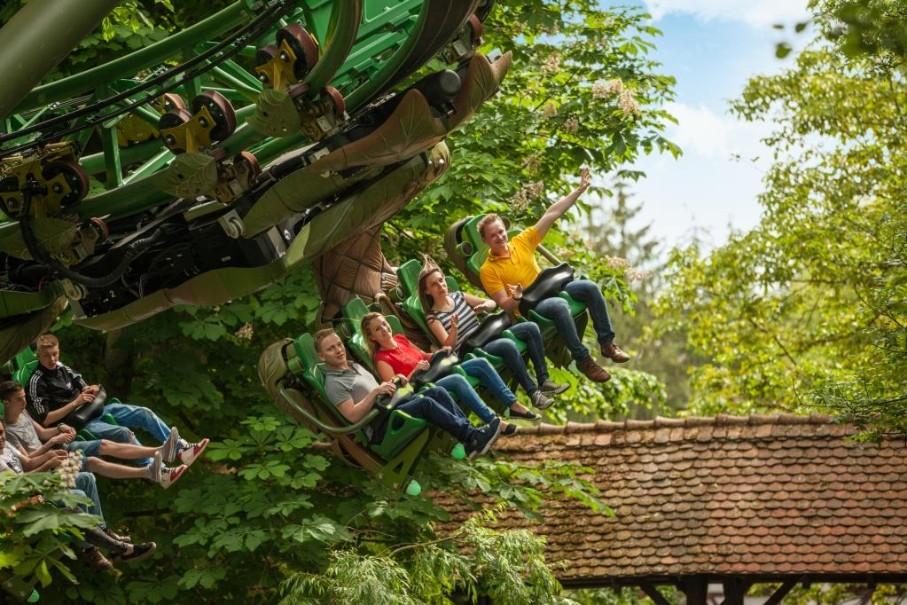 Rodinný Výlet Do Nejoblíbenějšího Zábavního Parku V Evropě (fotografie 2)