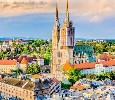 Hlavní města a přírodní krásy Chorvatska a Slovinska