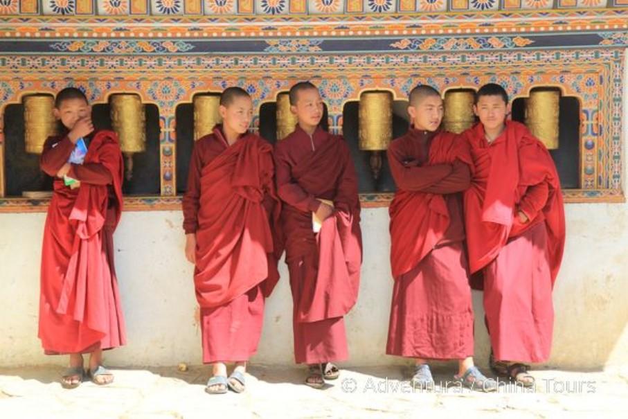 Bhútán na kole v pohodě (fotografie 1)