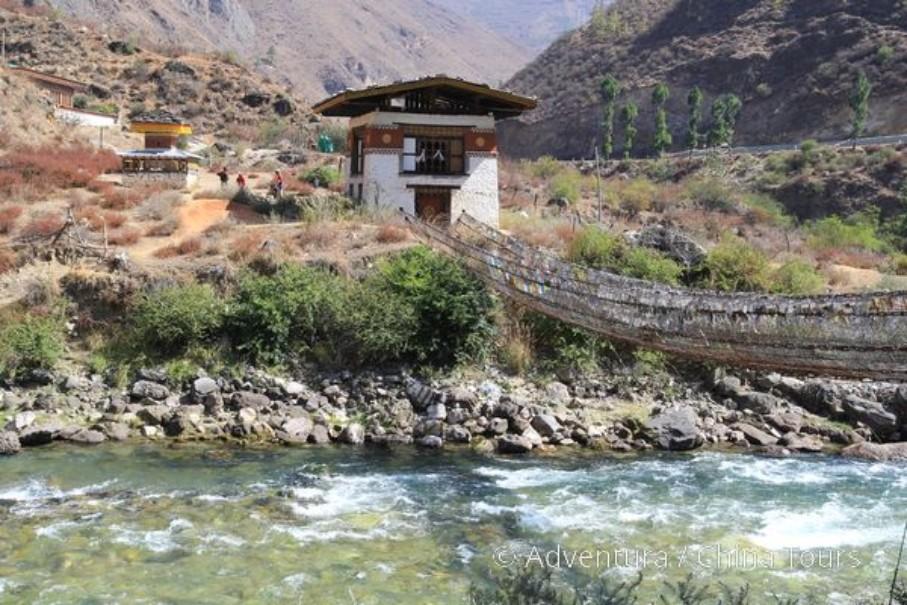 Bhútán na kole v pohodě (fotografie 9)