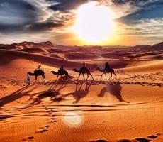 Setkání s pouští v Maroku - akce senior 50+