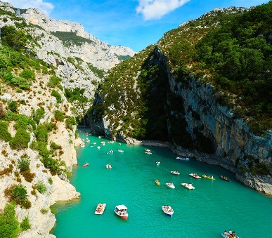 Azurové pobřeží,jižní Provence a kaňon Verdon