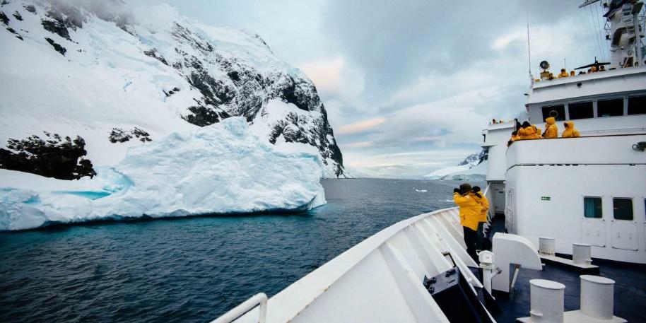 Výprava na Antarktidu: Objevování sedmého kontinentu na lodi Ocean Adventurer (fotografie 12)