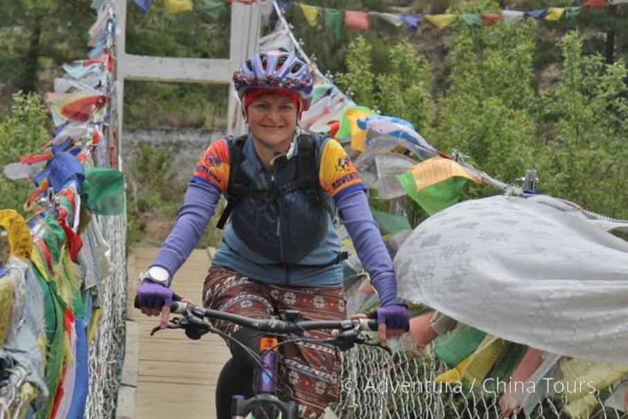 Bhútán na kole (fotografie 1)