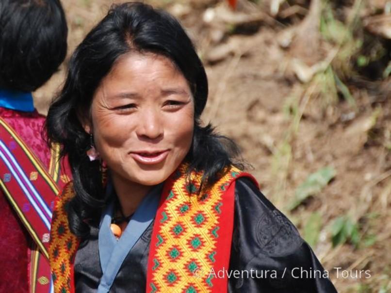 Bhútán na kole v pohodě (fotografie 4)