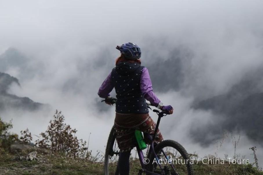 Bhútán na kole (fotografie 20)