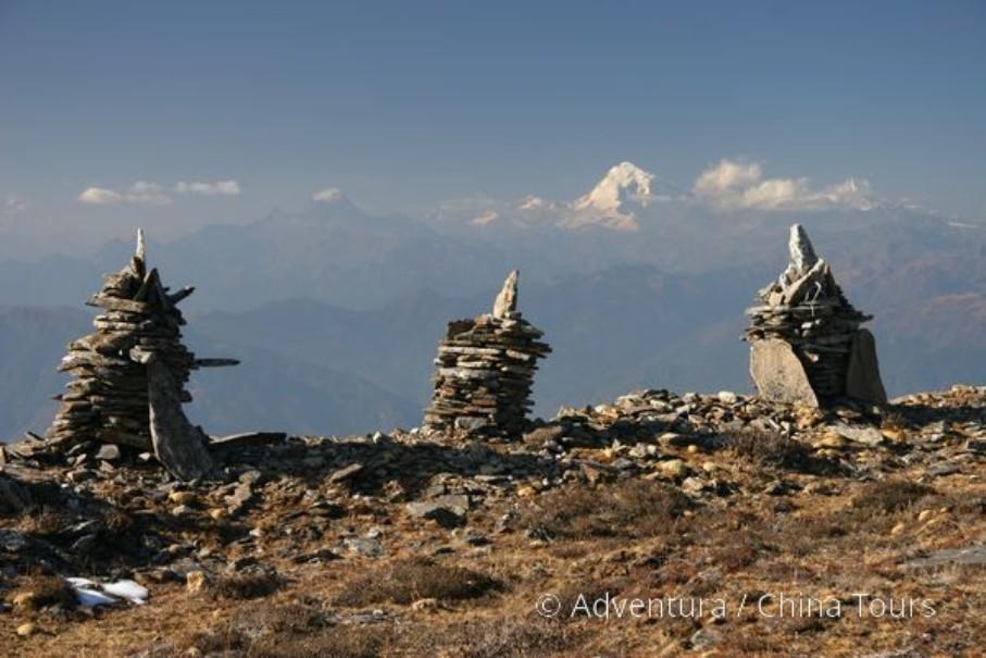 Bhútán s turistikou v zeleném Himálaji (fotografie 6)