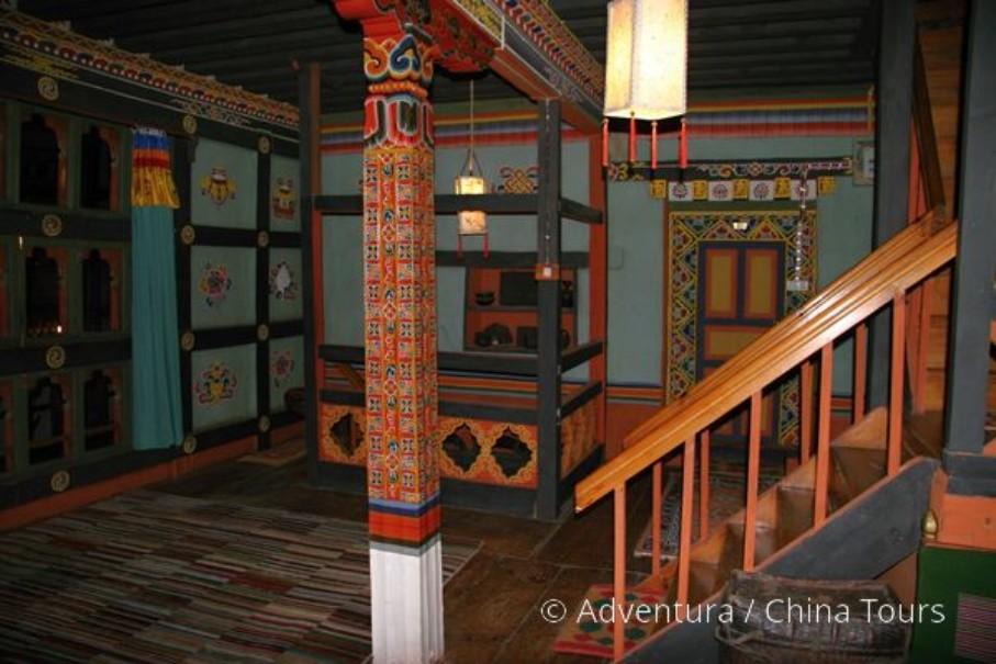 Bhútán s turistikou v zeleném Himálaji (fotografie 7)