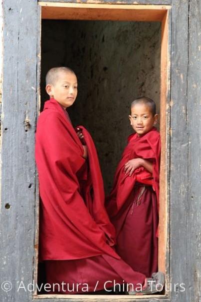 Bhútán s turistikou v zeleném Himálaji (fotografie 11)