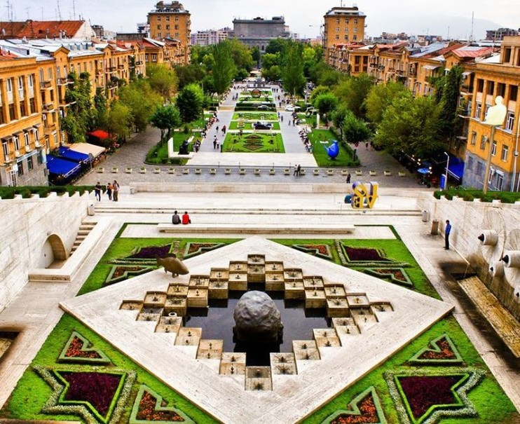 Historie a příroda v Armenii (fotografie 5)