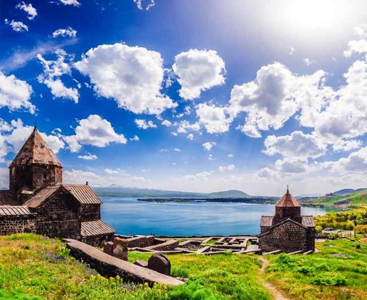 Historie a příroda v Armenii (fotografie 7)