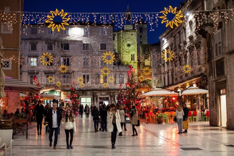 Slovinsko a Chorvatsko s Vánočními trhy (fotografie 14)