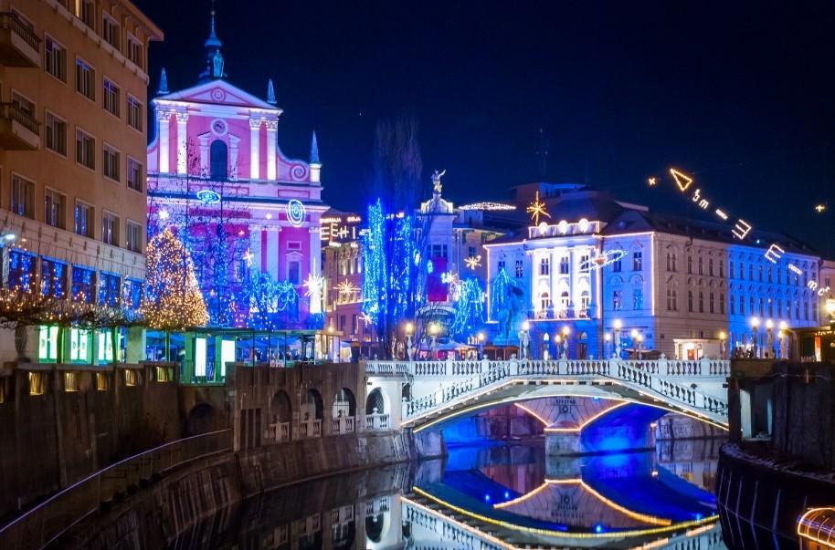 Slovinsko a Chorvatsko s Vánočními trhy (fotografie 16)
