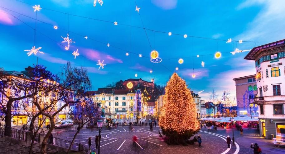 Slovinsko a Chorvatsko s Vánočními trhy (fotografie 26)
