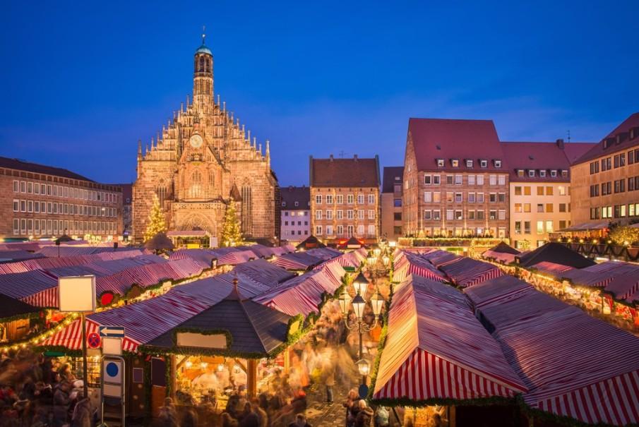 Advent v Německu a Francii: Amberg, Norimberk, Štrasburk (fotografie 6)