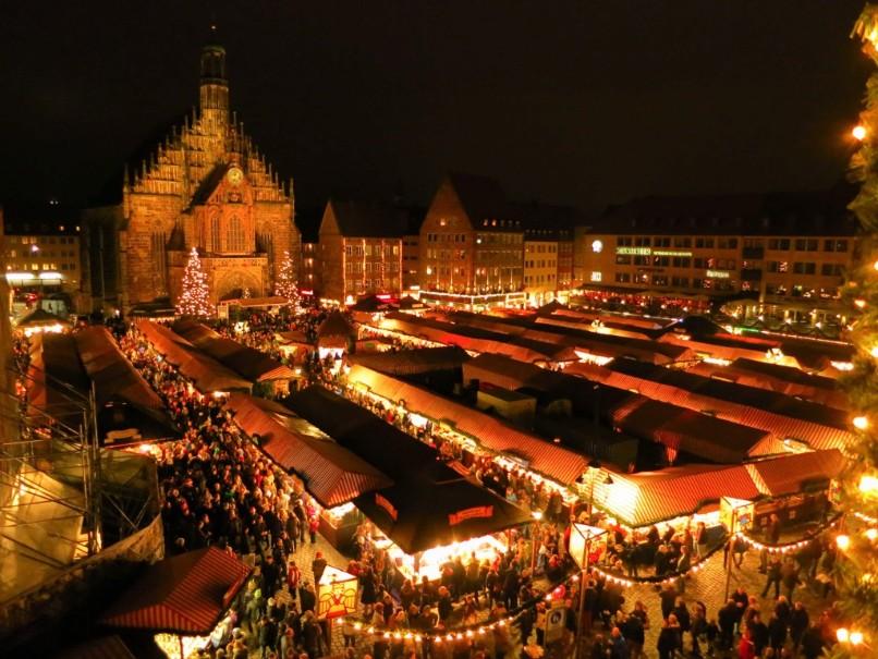 Advent v Německu a Francii: Amberg, Norimberk, Štrasburk (fotografie 10)