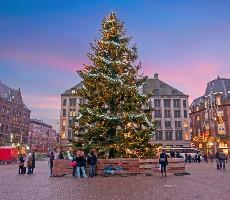 Vánoční Amsterdam a festival světel s návštěvou Bruselu