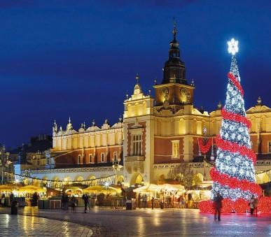 Advent v Krakowě