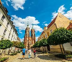 To nejlepší z Wroclawi + plavba lodí po Odře