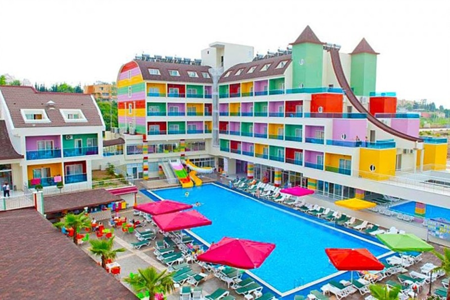 Hotel Blue Paradise (fotografie 1)