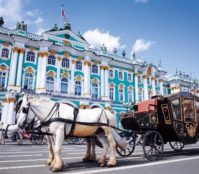 Petrohrad a Moskva