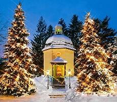 Salcburk a tichá noc v Oberndorfu