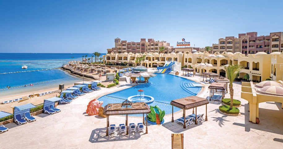 Hotel Sunny Days Resort Spa & Aqua Park (fotografie 1)