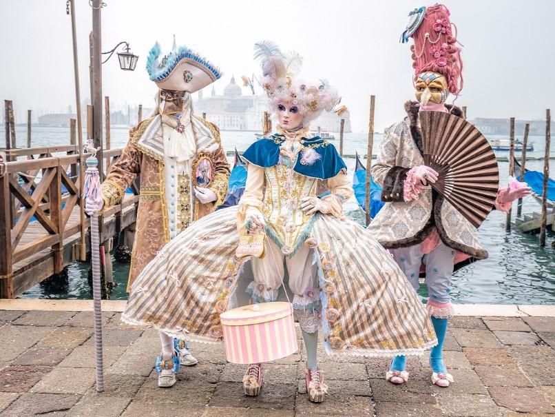 Za světoznámým karnevalem masek a návštěvou Benátek (fotografie 2)