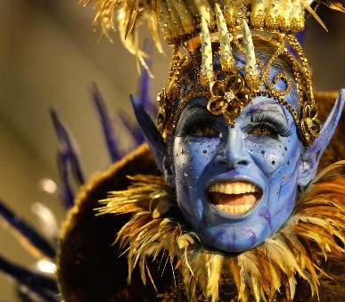 Argentina - Uruguay - Brazílie - pravý jihoamerický karneval