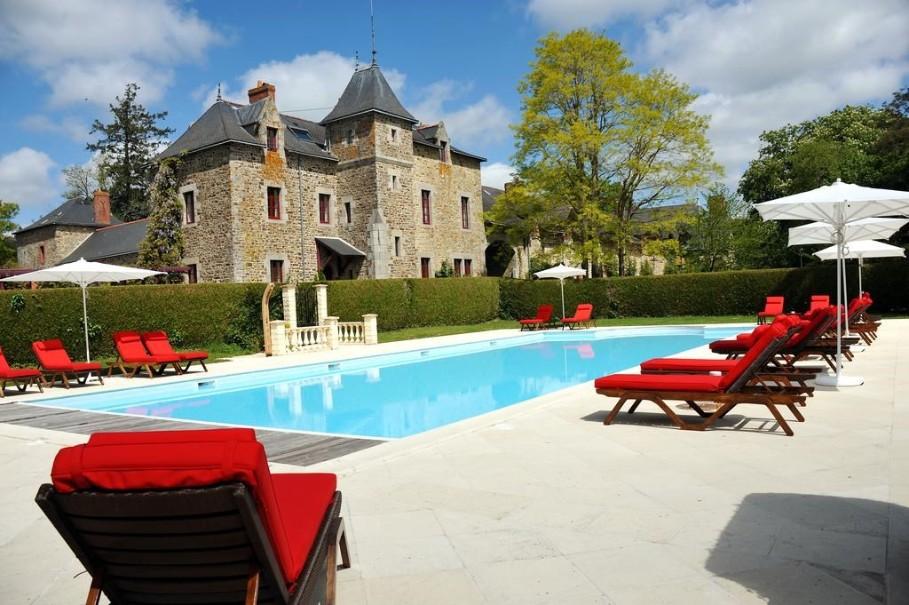 Chatky Les Cottages De La Bretesche (fotografie 1)