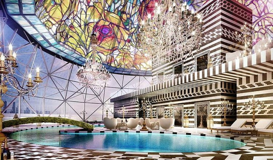 Hotel Mondrian Doha (fotografie 1)